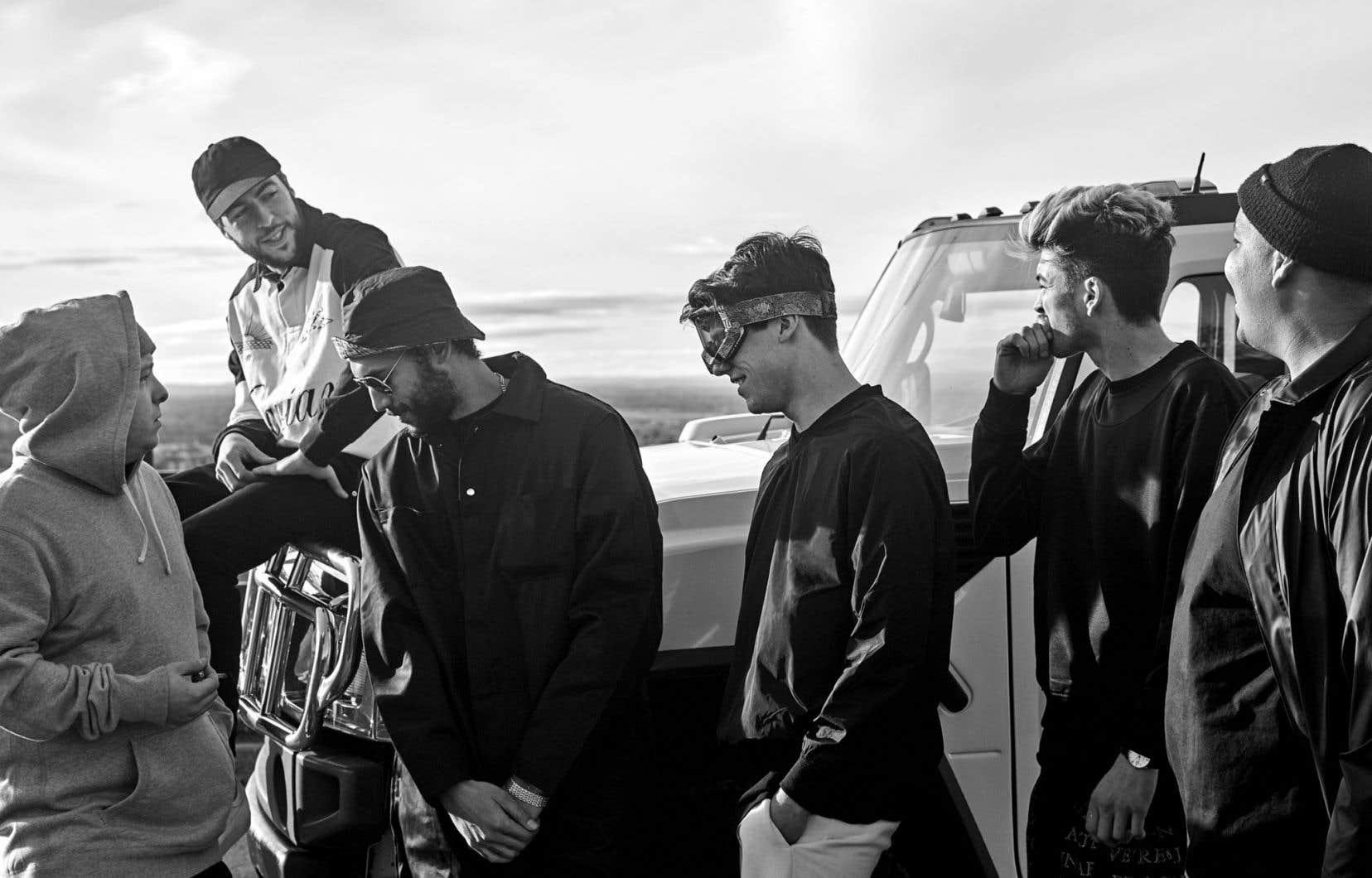 Que ses membres le veuillent ou non, le groupe de «post-rap» Dead Obies est devenu l'étendard de l'utilisation du franglais.