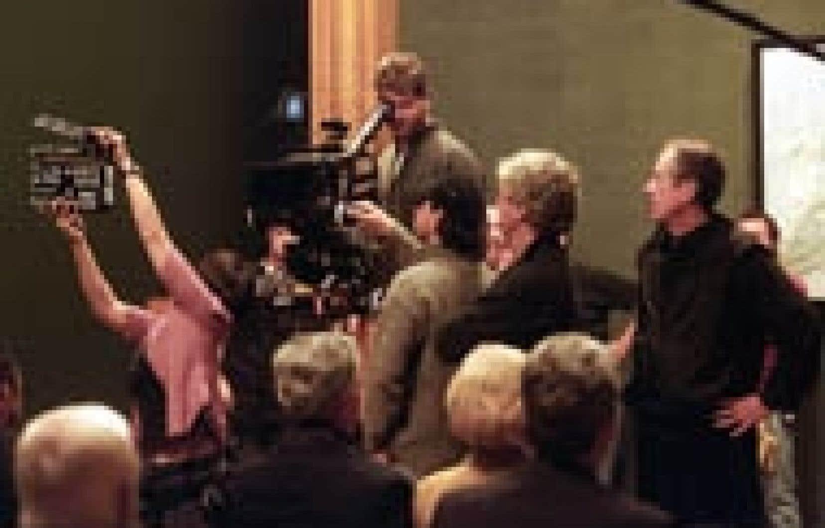 Le tournage de la suite du Déclin de l'empire américain est en branle à Montréal.