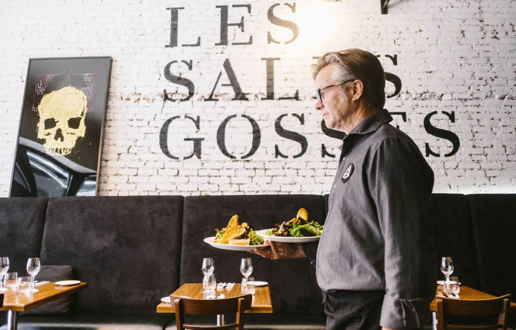 Les Sales Gosses propose gamineries et jeux culinaires.