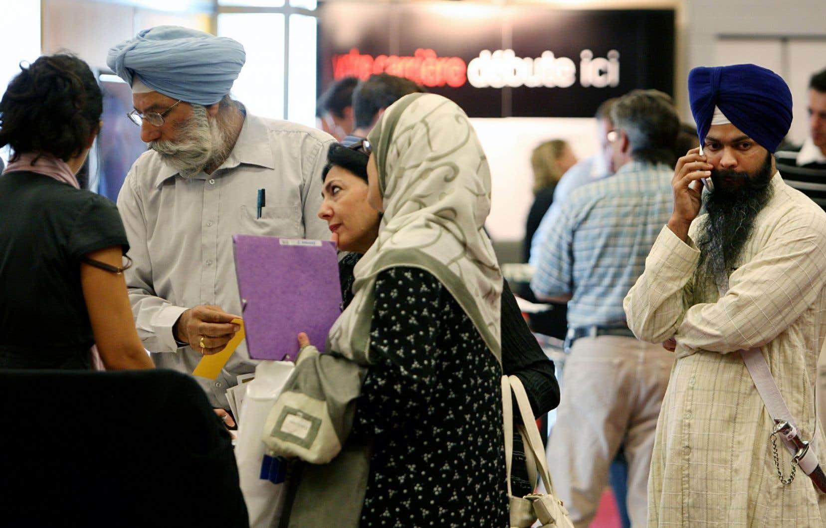 En 2011, la proportion d'immigrants au Québec a atteint un record, soit 12,6 % de la population.