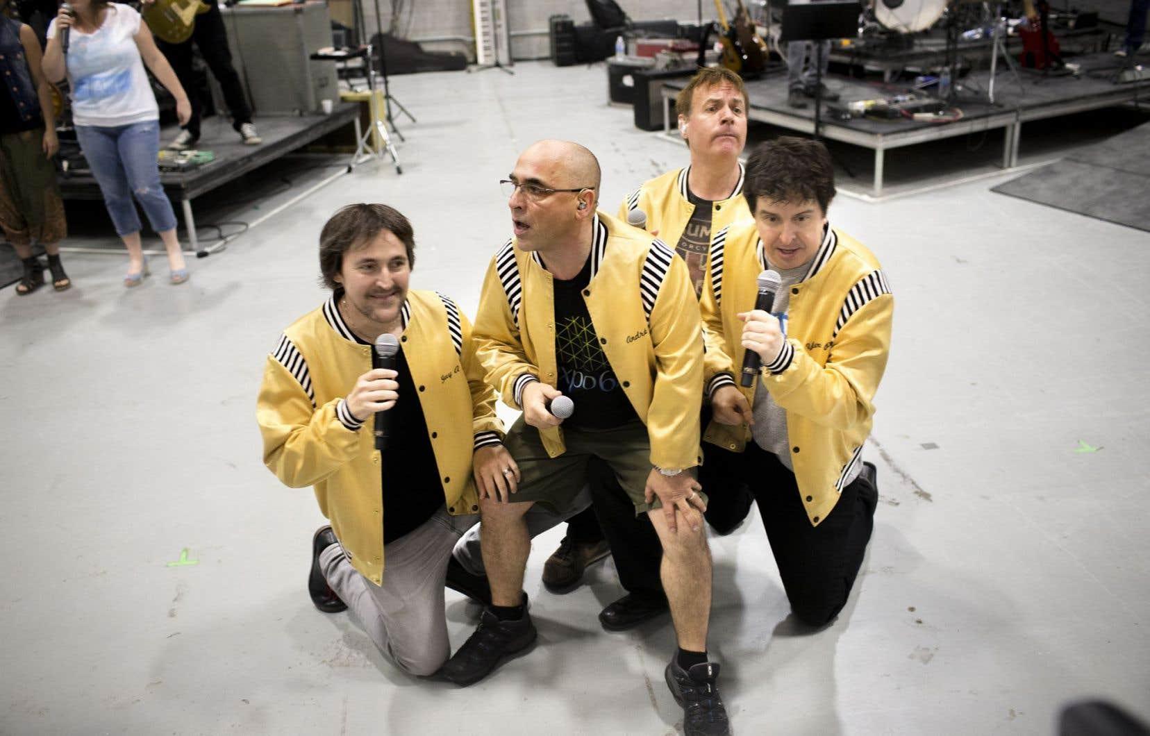Les membres du mythique groupe d'humoristes remontent sur scène vendredi et samedi.