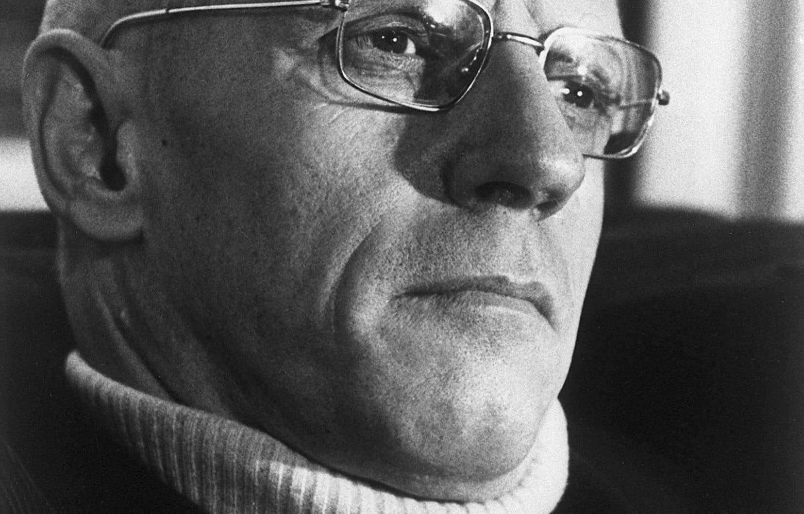 Le philosophe Michel Foucault