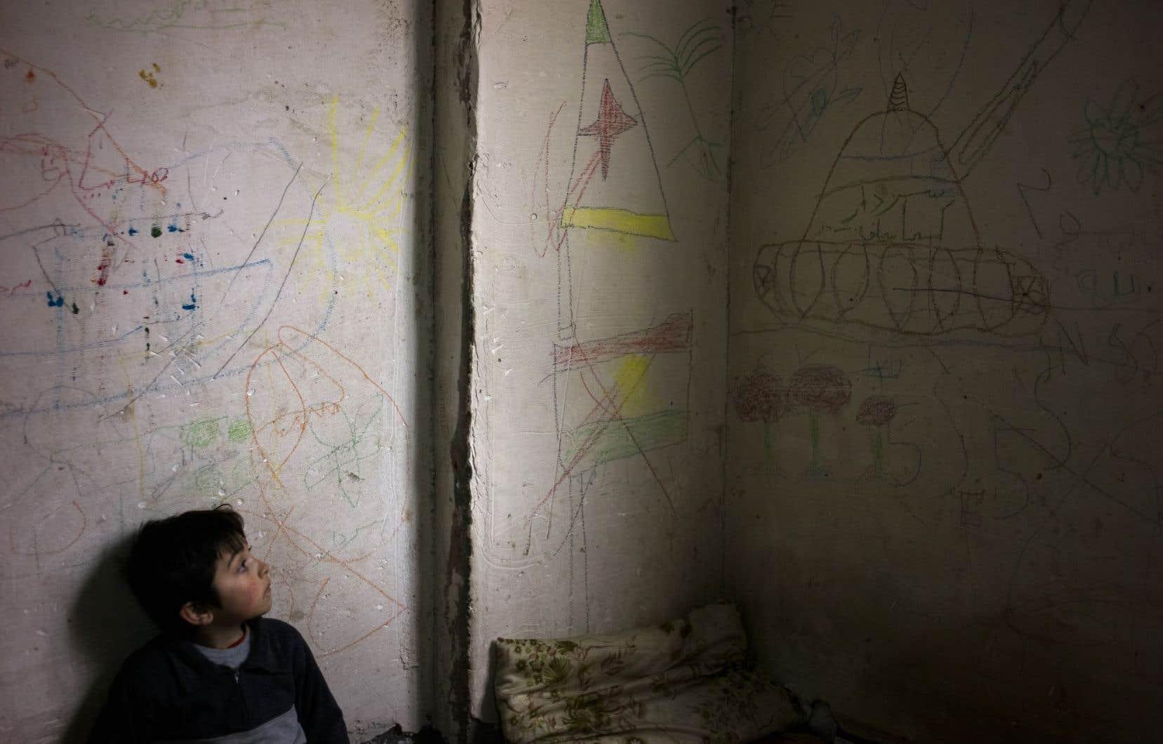 Dominic Nahr s'est intéressé aux déplacés en Irak.