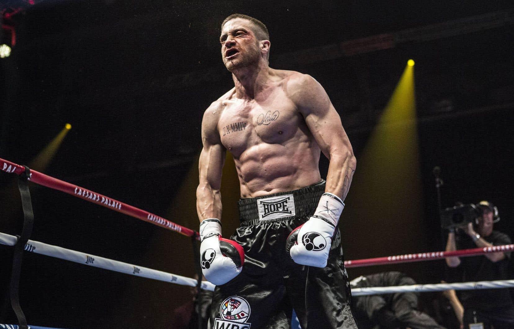 «Southpaw» est un drame sportif qui repose sur les robustes épaules de Jake Gyllenhaal.