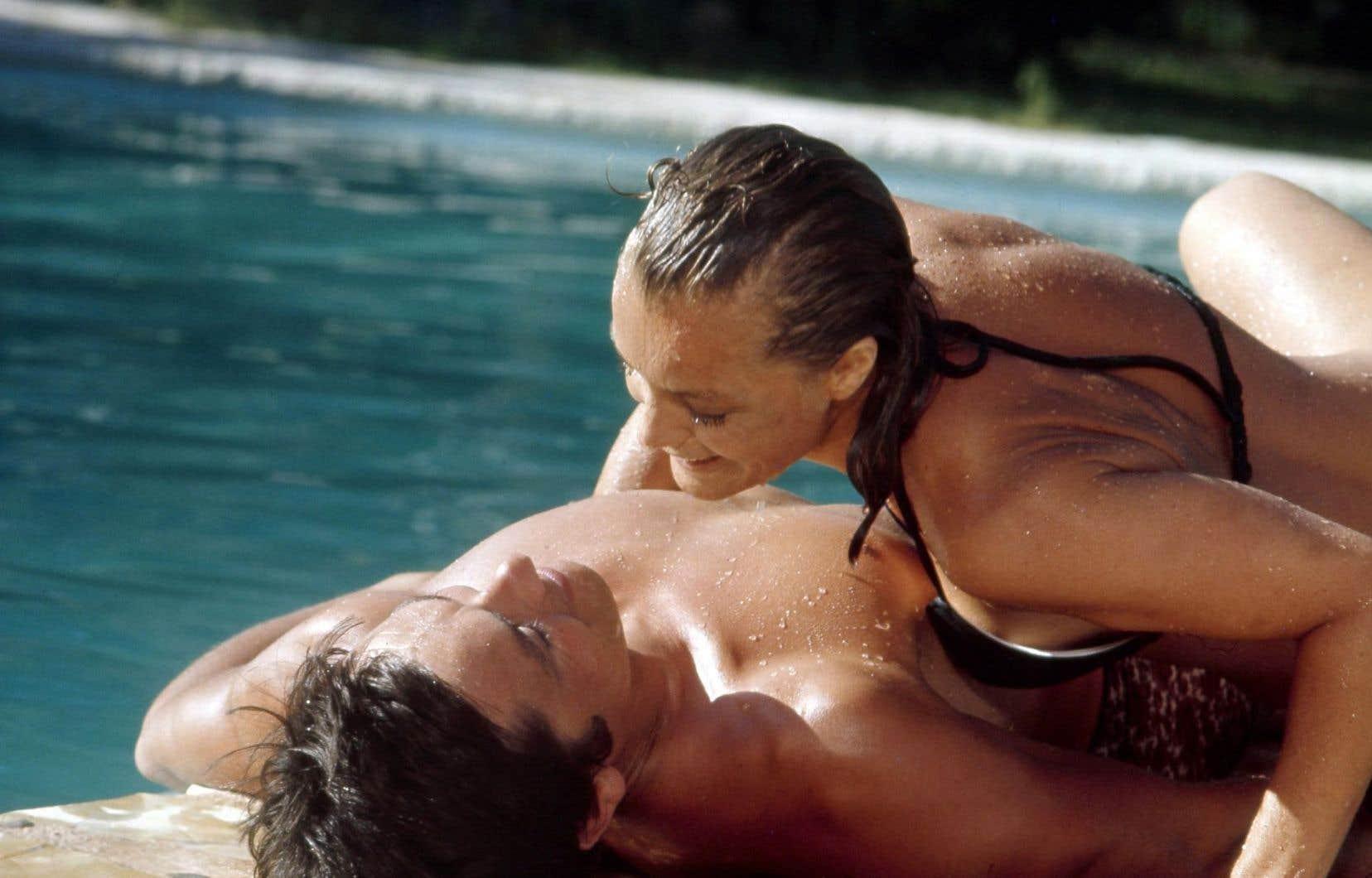 «La piscine de Jacques Deray» avec Romy Schneider et Alain Delon