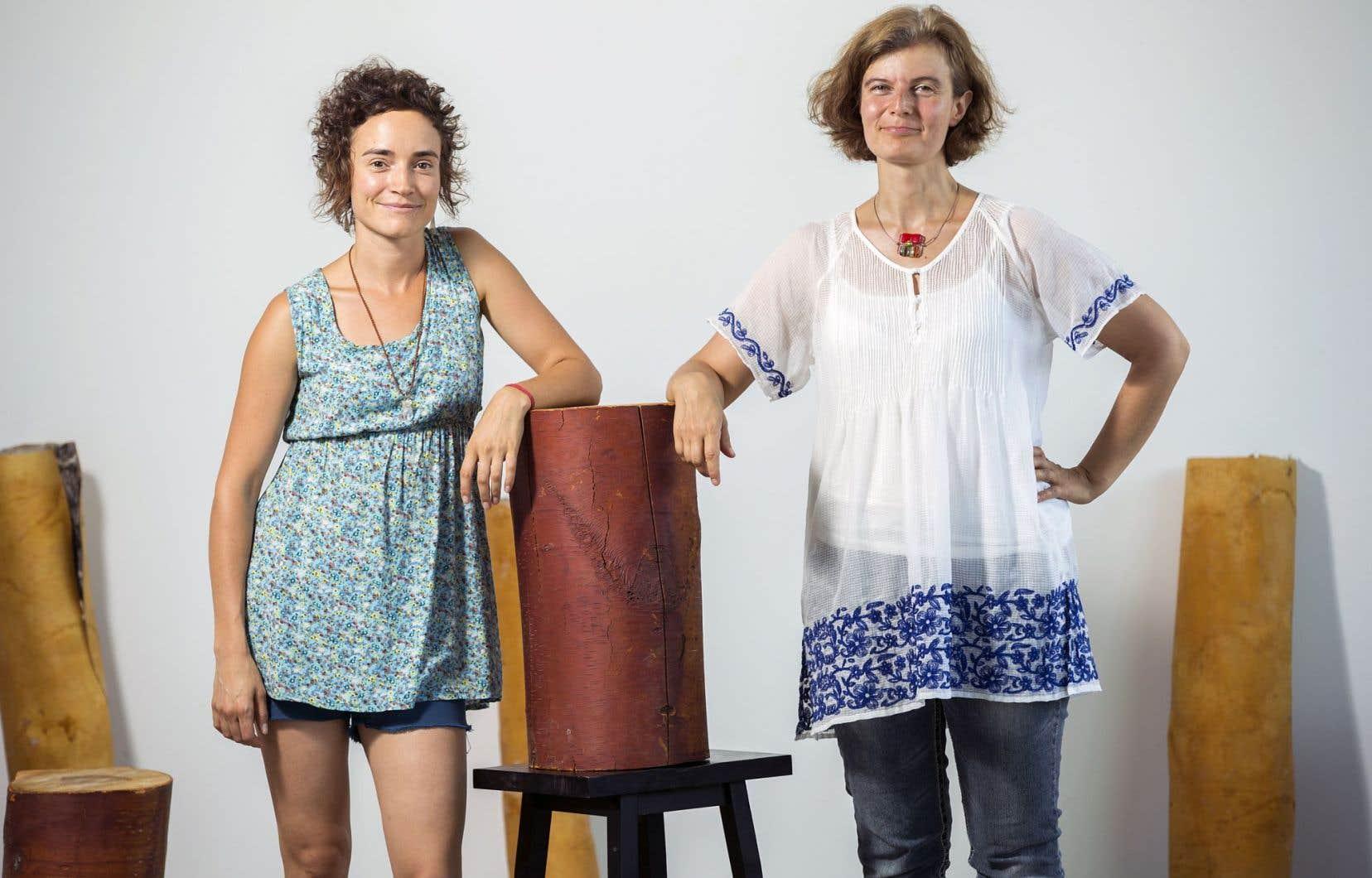 Moe Clark et Katia Makdissi-Warren cosignent «Transcestral», une création pour les 25 ans du festival.
