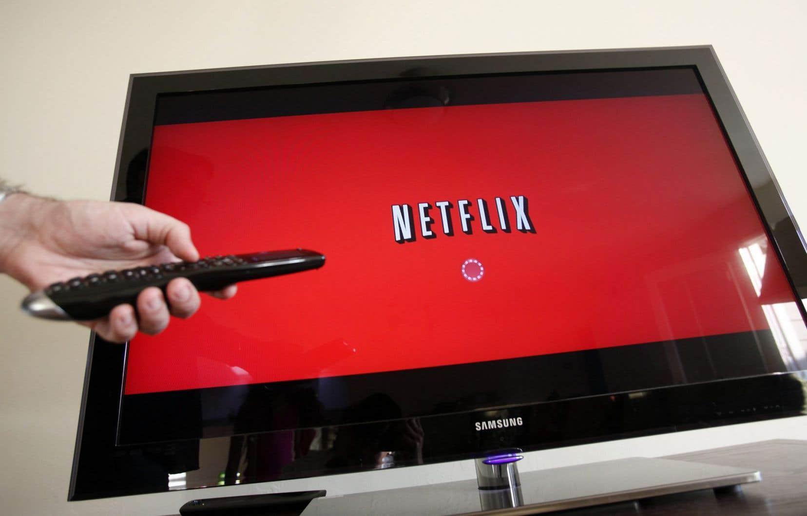 Plusieurs services en ligne basés à l'extérieur du pays, dont Netflix, ne facturent pas de taxes à leurs consommateurs canadiens.