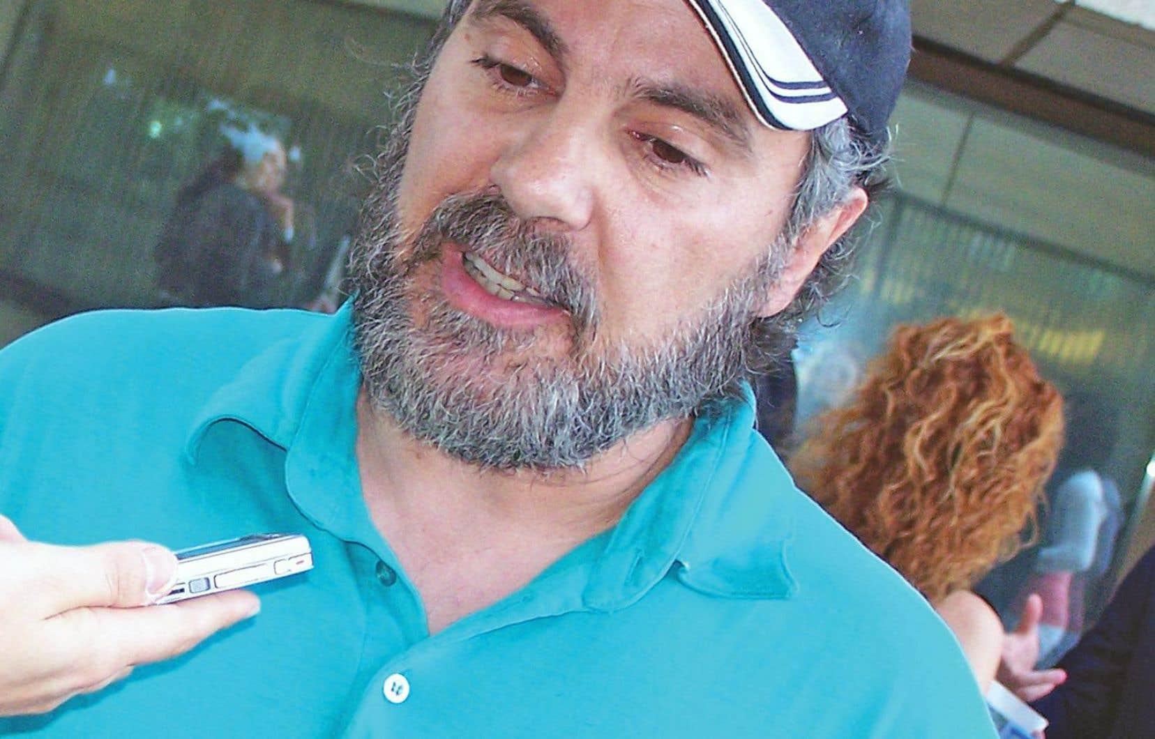 Gilles Caron en 2008