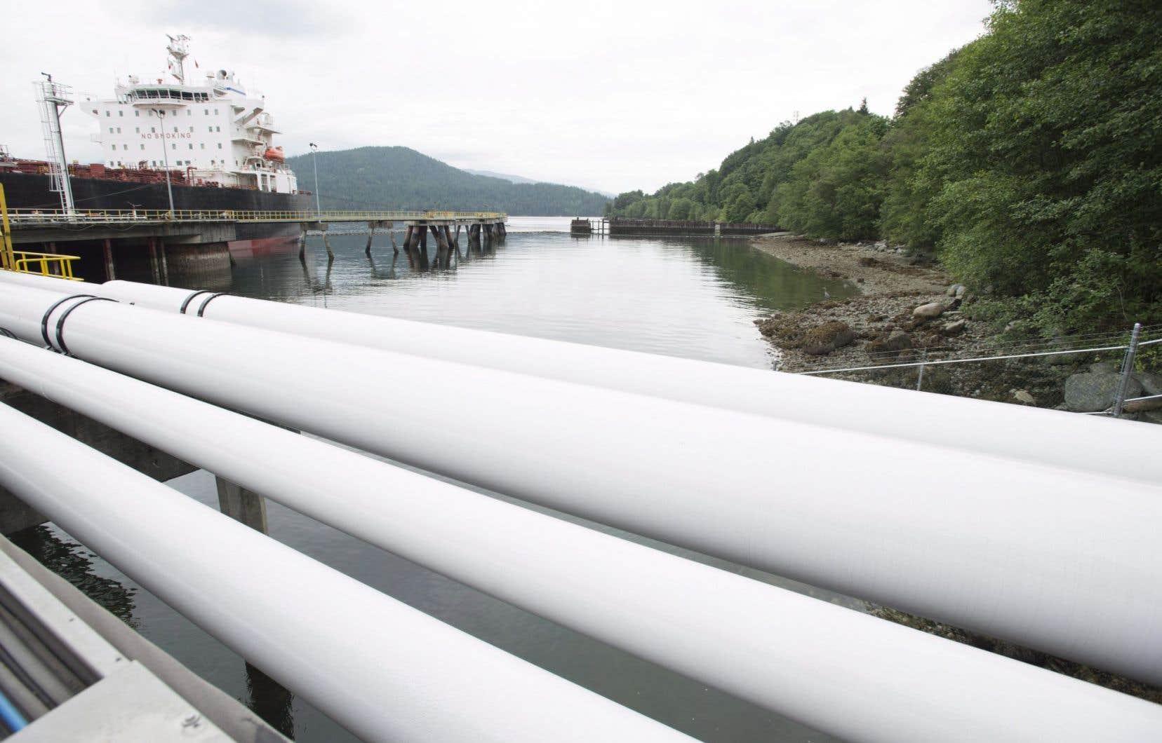 Steven Kelly a vanté devant l'ONE le projet d'expansion du pipeline Trans Mountain, en Colombie-Britannique.