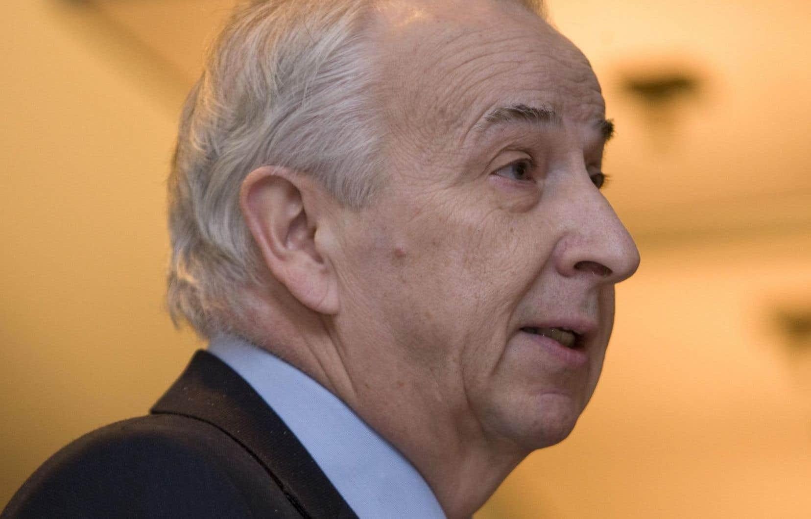Bernard Descôteaux a dirigé «Le Devoir» pendant 17 ans.