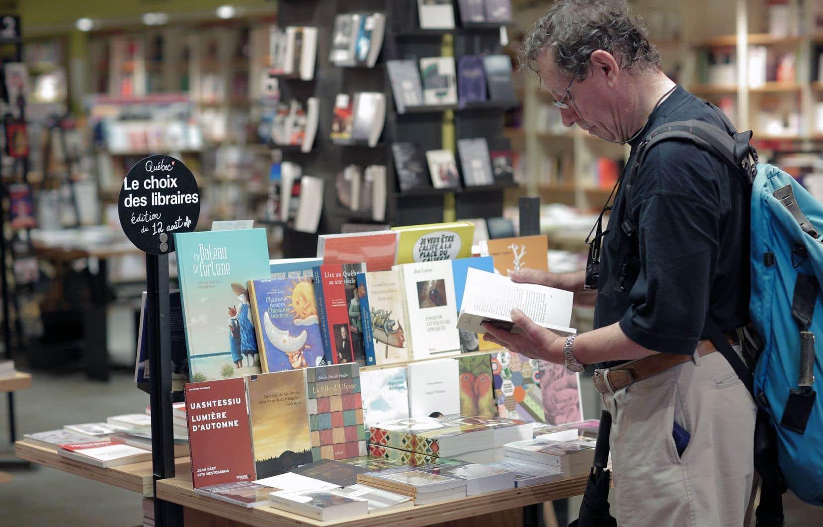 En 2014, le 12août est devenu la journée d'achat du livre québécois.