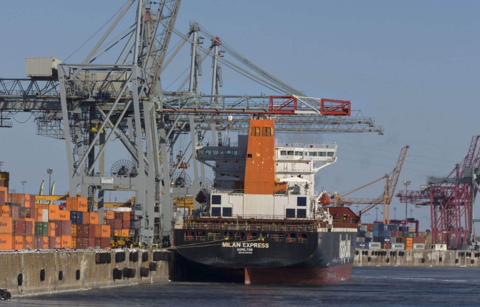 Robert Sauvé dit vouloir se consacrer à ses fonctions au port de Montréal.