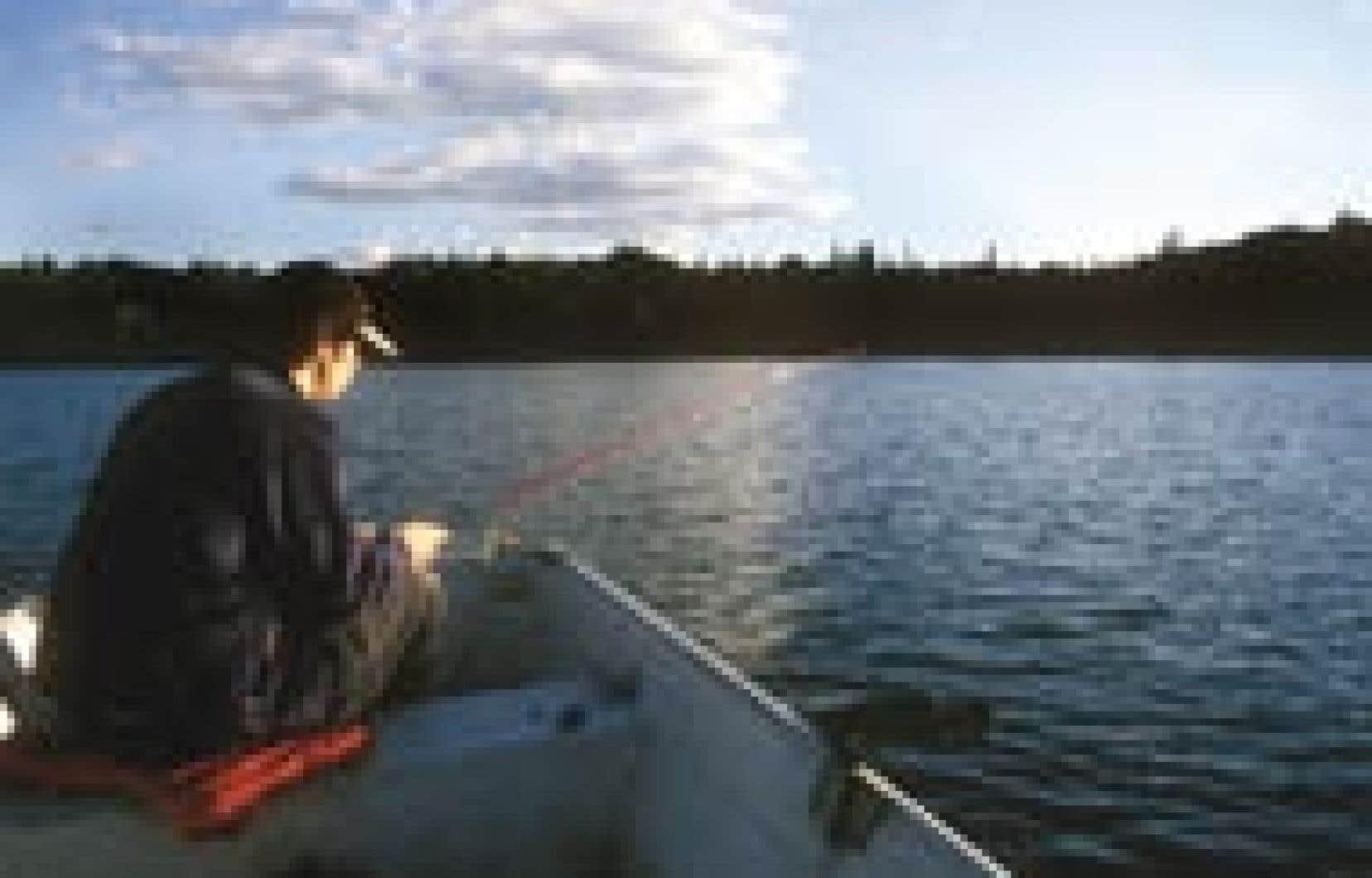 Photo Gary Lawrence - La pêche, activité contemplative par excellence…