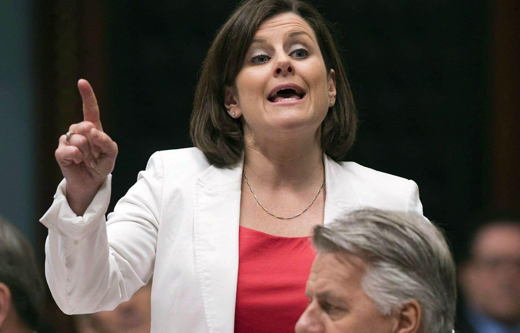 La ministre de la Justice, Stéphanie Vallée, a admis que le projet de loi 59 comporte «peut-être un flou».