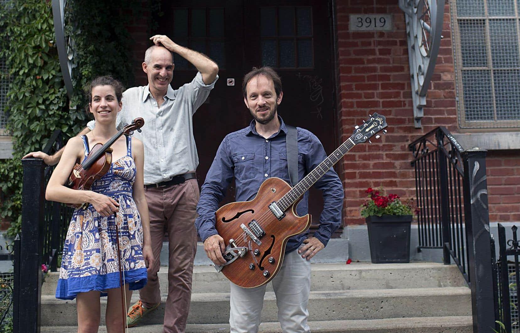 Le groupe montréalais Magillah met en musique les poèmes de sept auteurs de la culture yiddish.