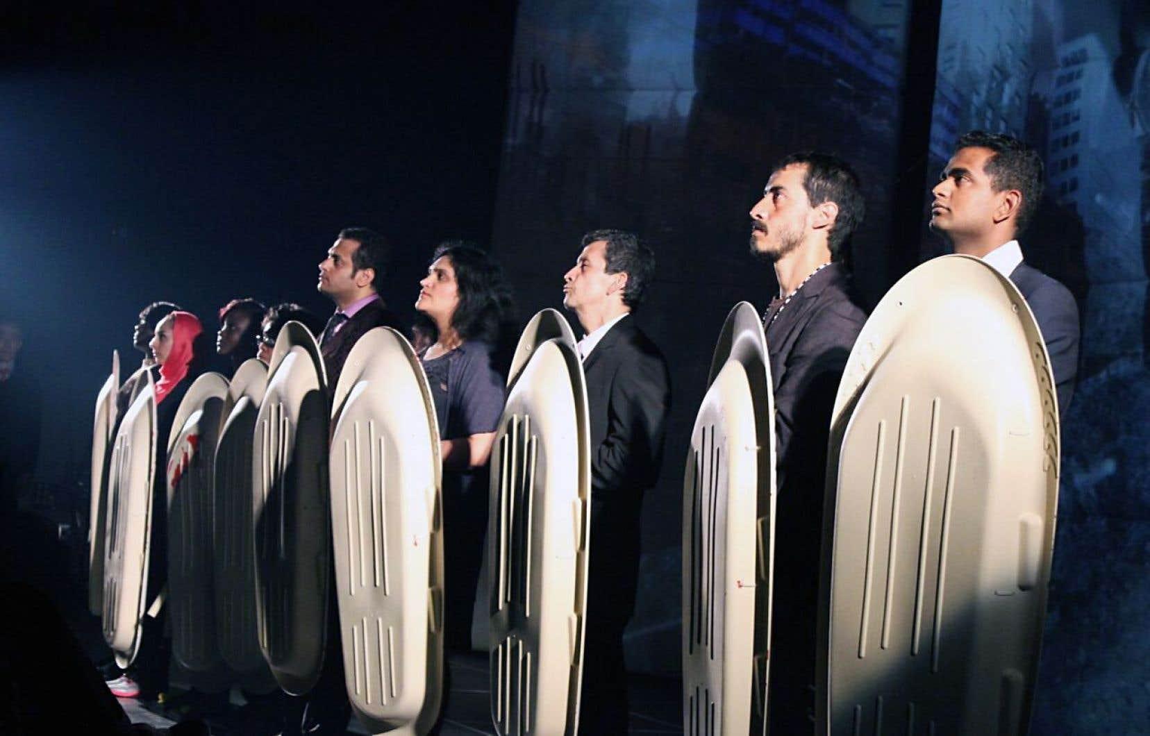 La saison débutera le 15 septembre avec la présentation de «Polyglotte», un texte de Olivier Choinière.