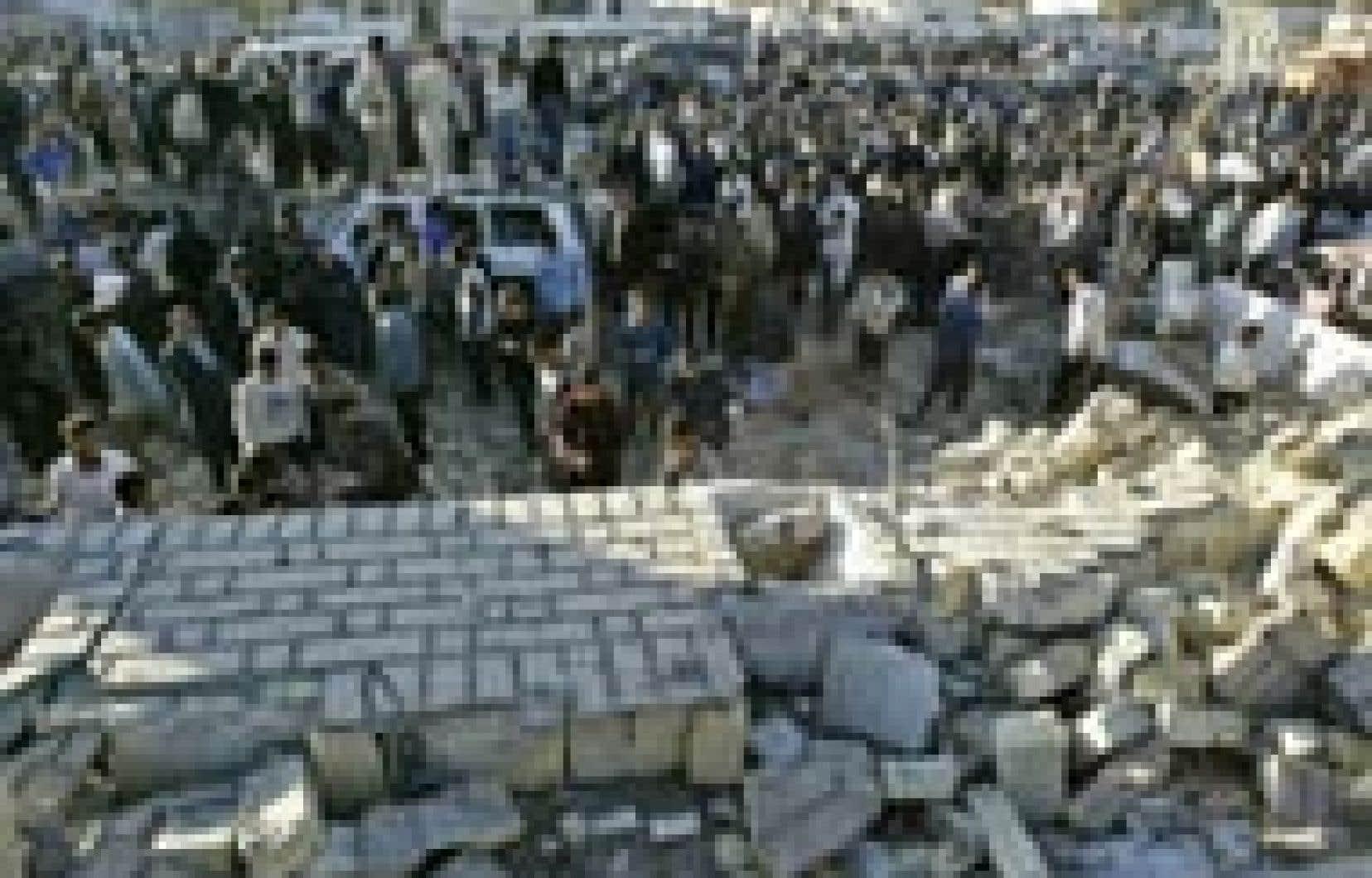 «C'est typique des attentats perpétrés contre les symboles de l'autorité irakienne», a commenté un officier américain.