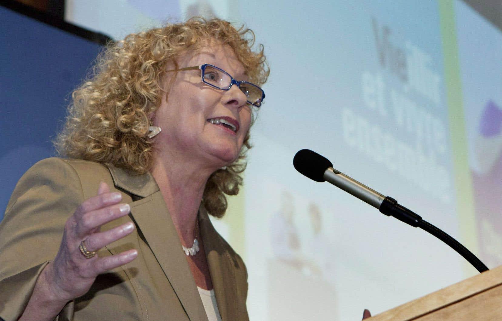 Marguerite Blais a indiqué qu'elle a besoin d'un défi et qu'elle n'en trouve plus en politique dans son travail actuel.