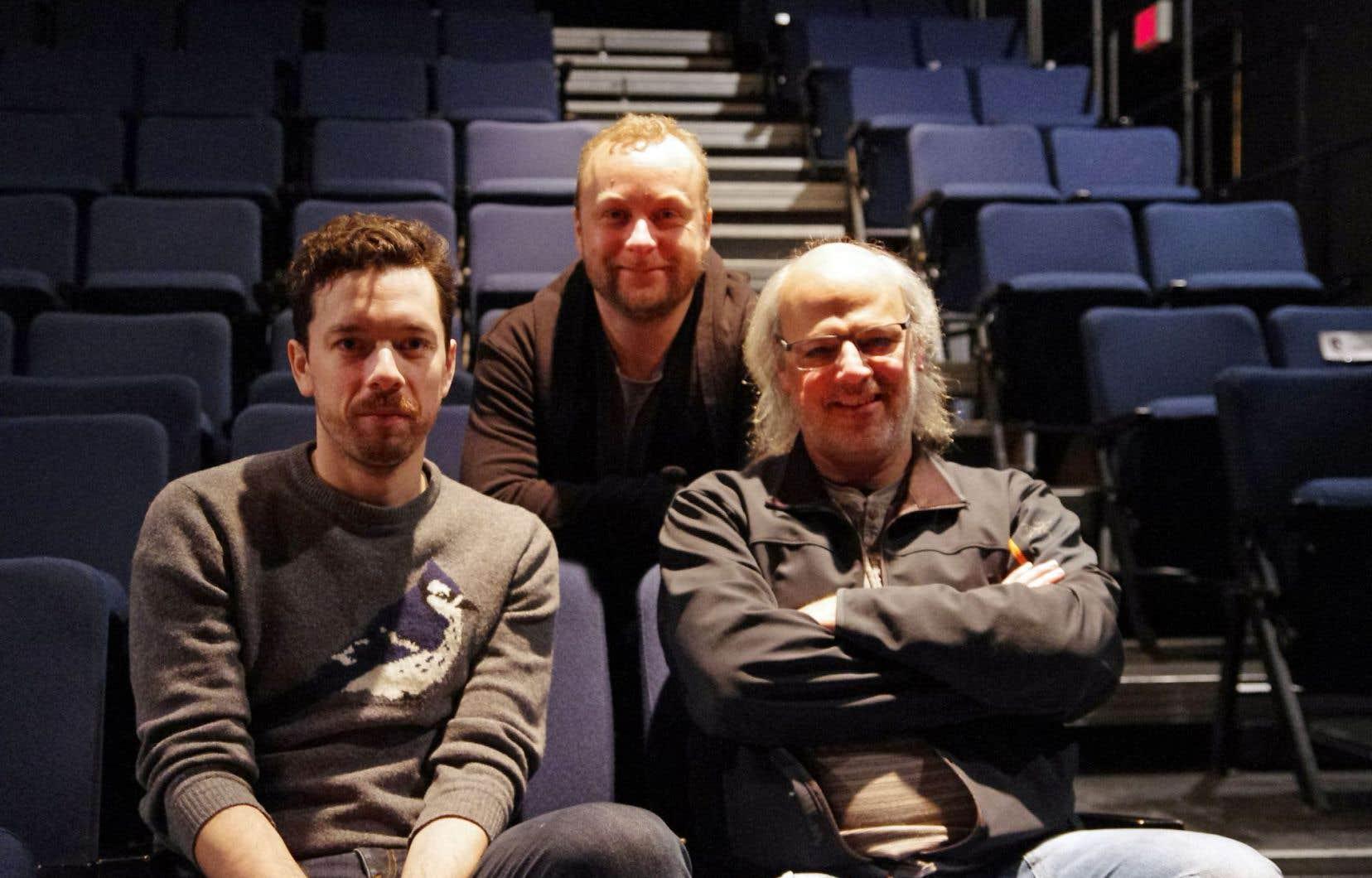 Le Périscope propose une relecture du «Vinci» de Robert Lepage, avec Olivier Normand, Frédéric Dubois et Pierre Philippe Guay.