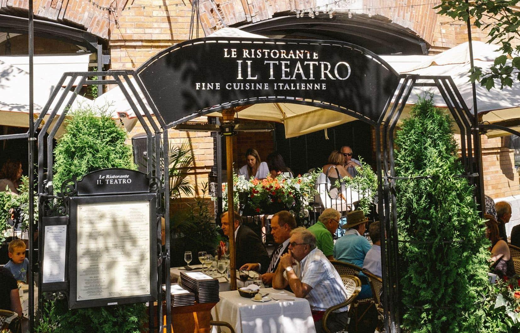 Le restaurant Il Teatro offre aux gourmands l'une des plus agréables terrasses du Vieux-Québec.