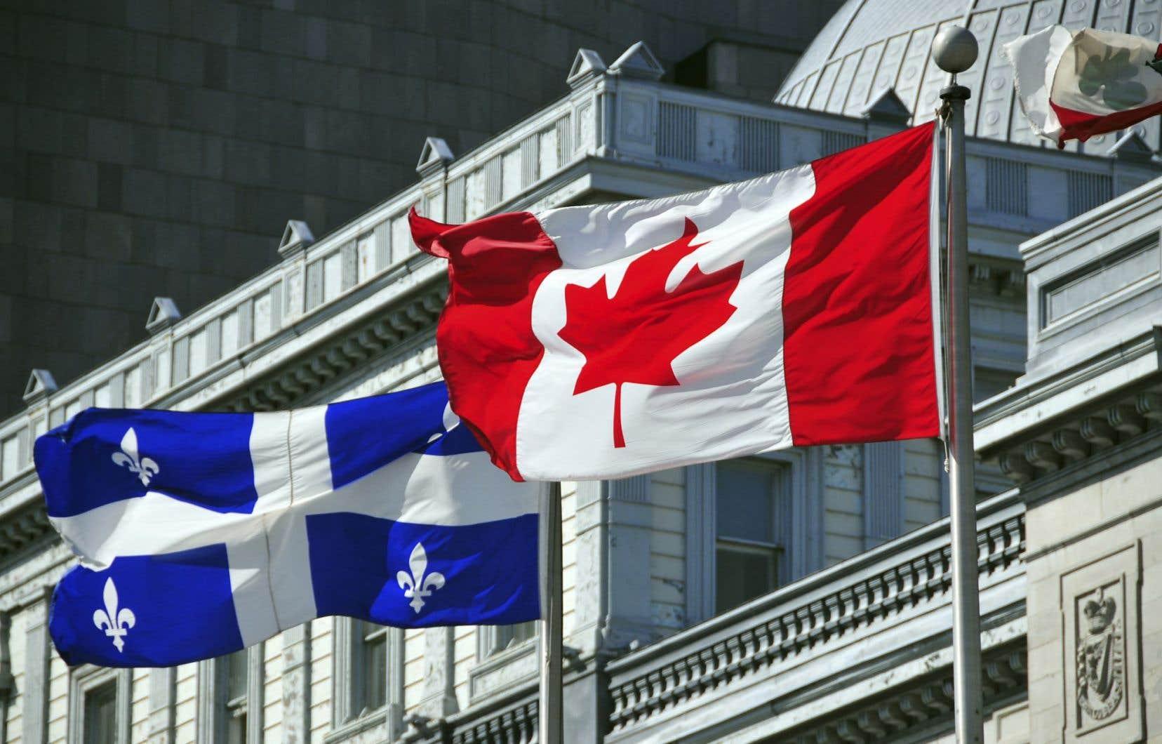 Le projet d'indépendance du Québec représente essentiellement la volonté que les Québécois gèrent eux-mêmes ce qui relève actuellement de la juridiction fédérale.<br />