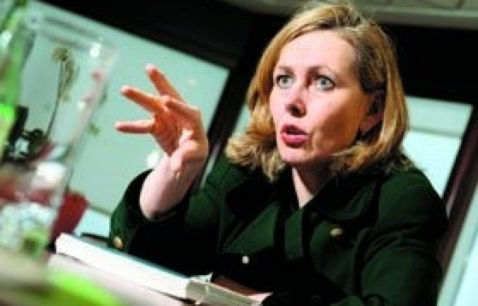 Comme les autres dirigeants de Desjardins, Monique Leroux n'a reçu aucune prime de rendement en 2008.