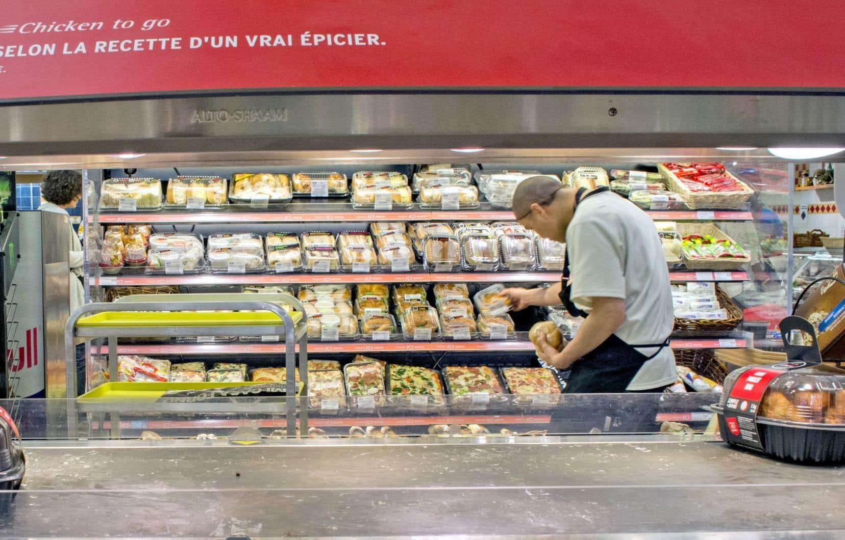 Les aliments achetés en magasin ont augmenté de 4 % en août en dépit du recul du prix du bœuf.