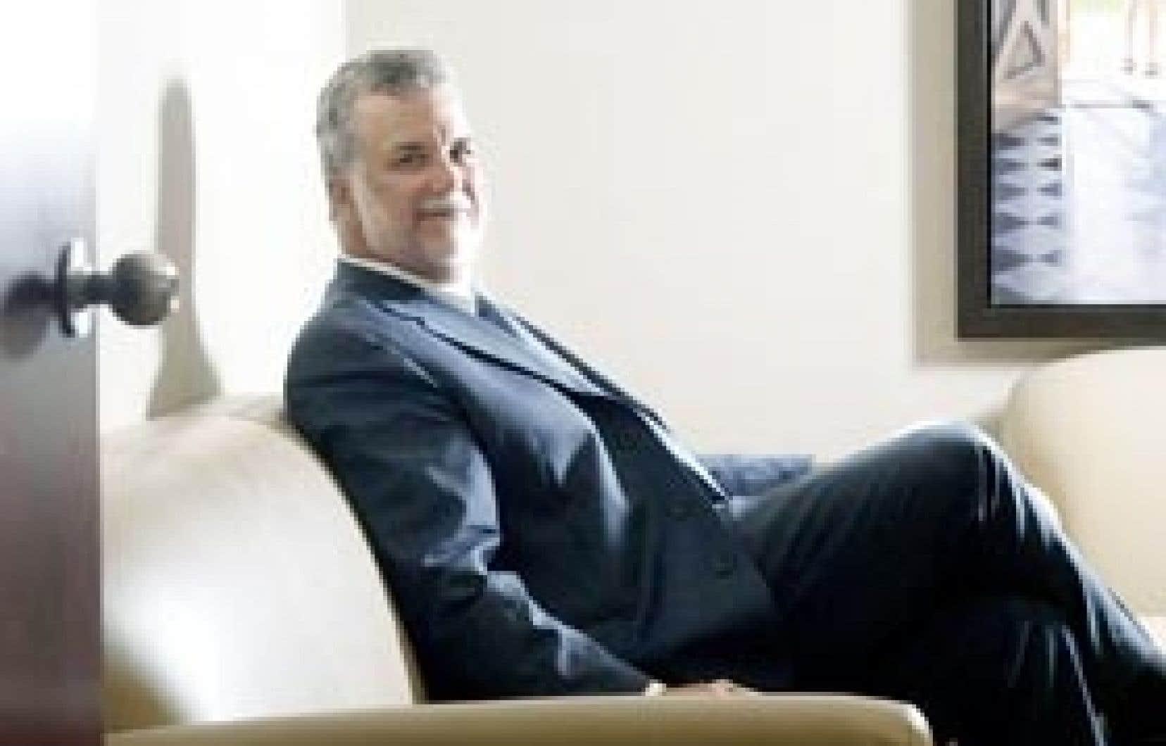 Philippe Couillard, photographié quelques semaines après avoir troqué son titre de ministre de la Santé pour celui de conseiller stratégique chez Persistence Capital Partners.