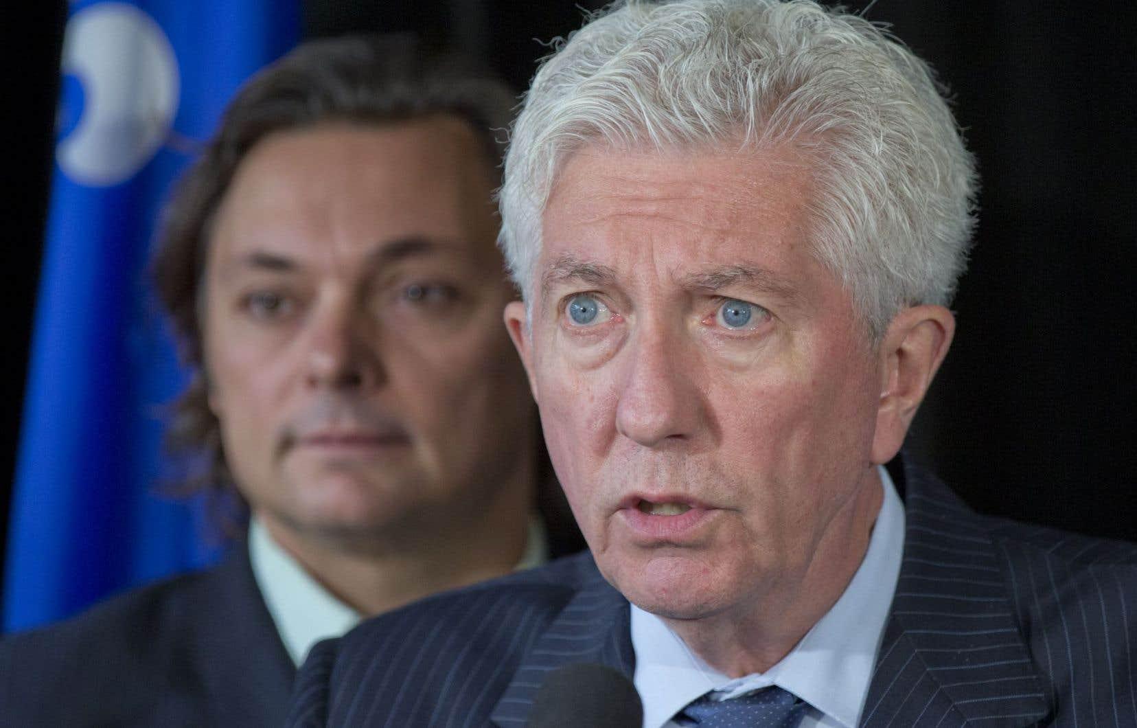 Gilles Duceppe veut un engagement clair des partis en faveur du maintien de la gestion de l'offre en agriculture.
