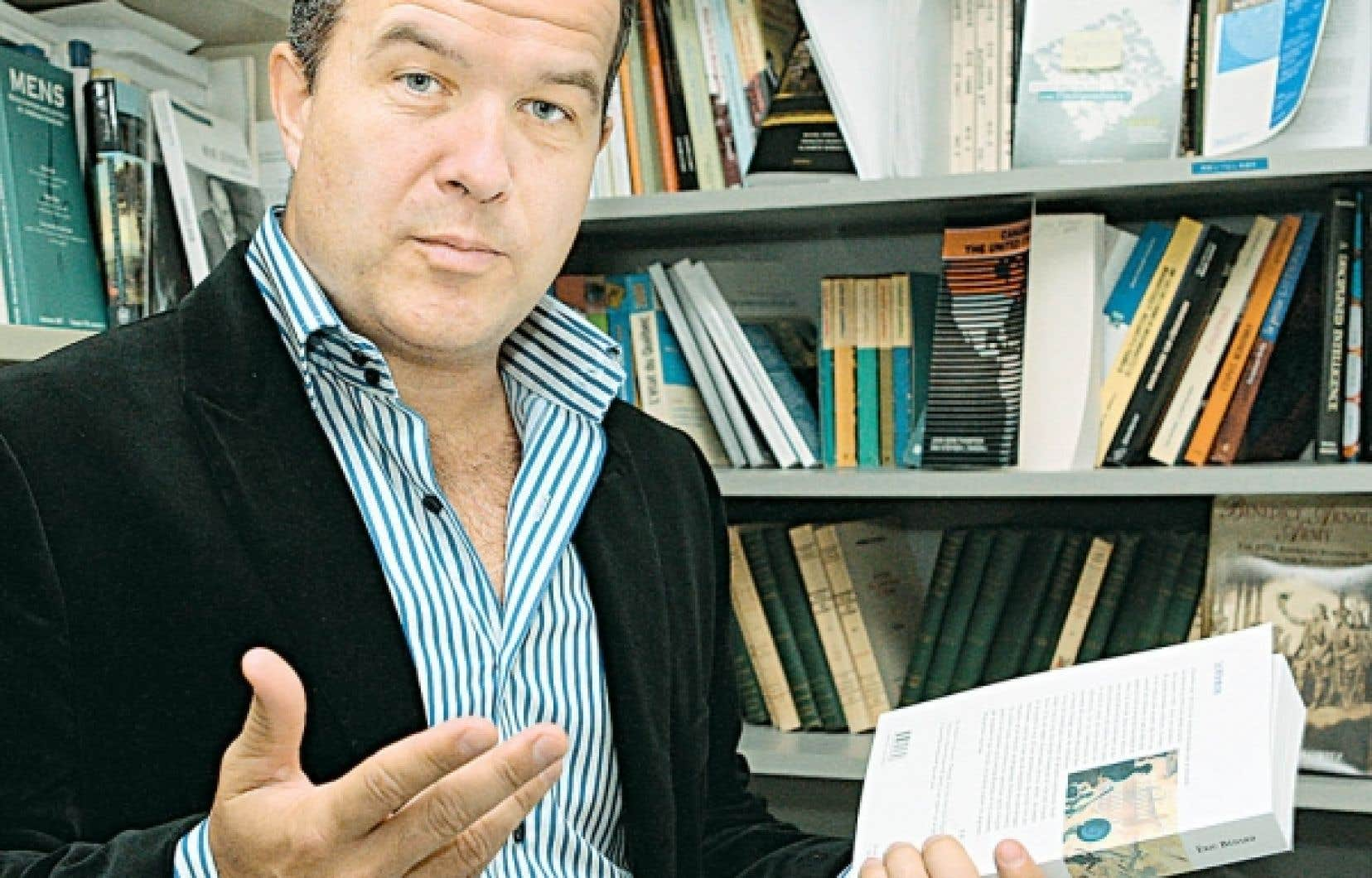 L'historien Éric Bédard, de la Télé-Université de l'UQAM