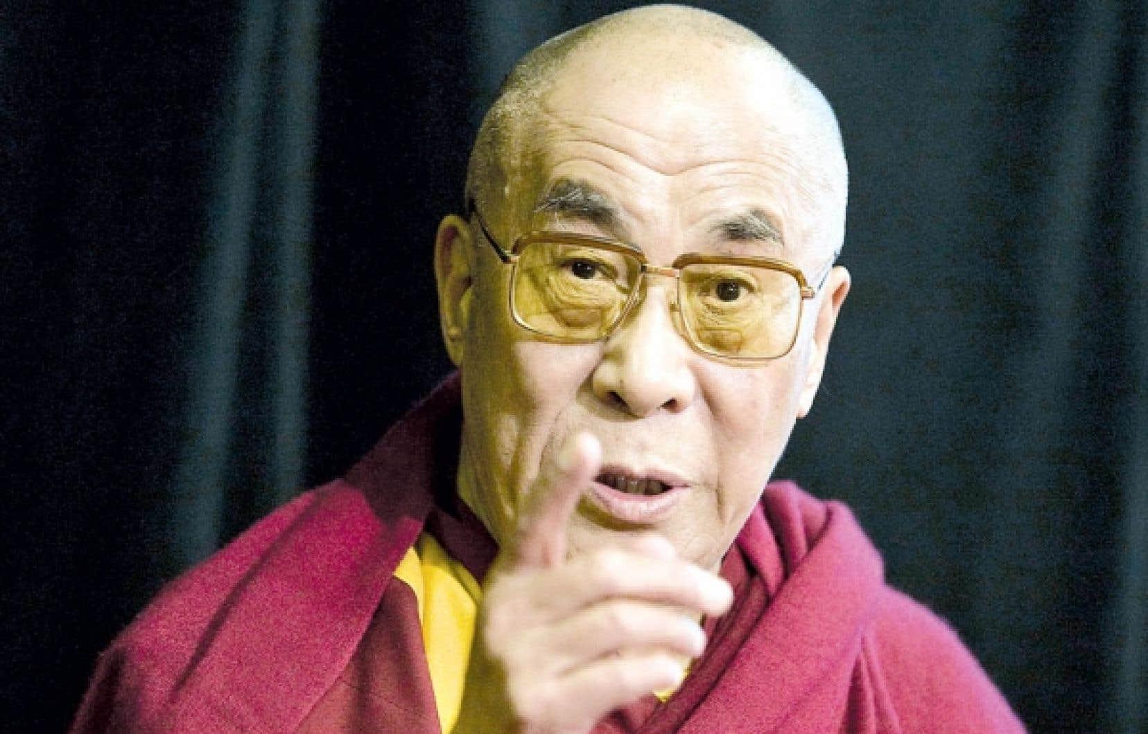 Le dalaï-lama à Montréal