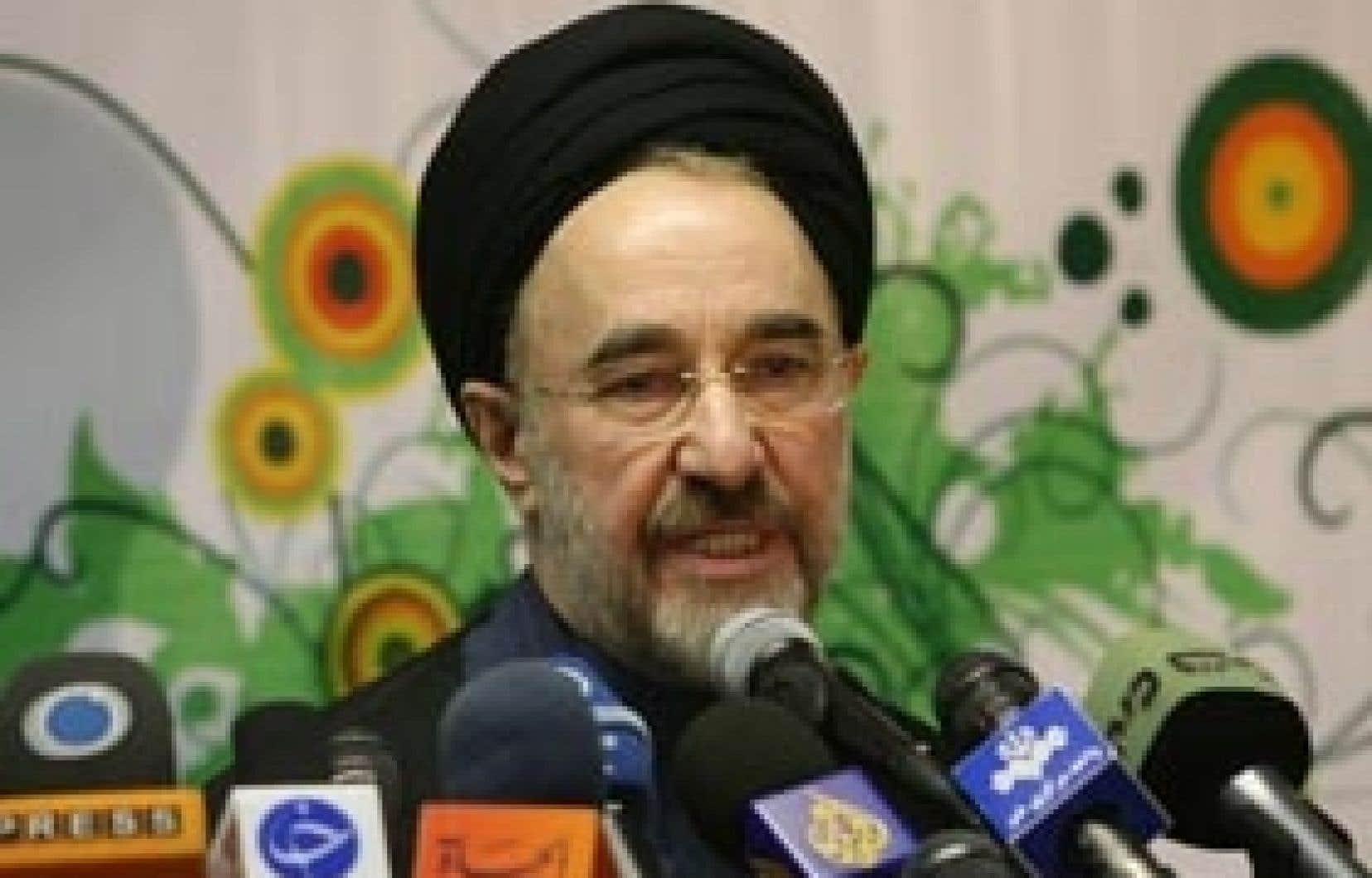 Mohammad Khatami pourrait laisser sa place à l'ancien premier ministre Mir Hossein Moussavi.