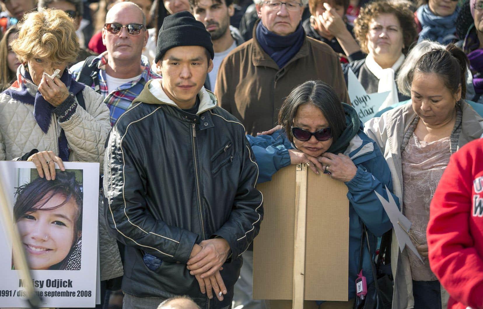 La marche commémorative du 4octobre, qui s'est déroulée dans les rues de Montréal, en était cette année à sa dixième édition.