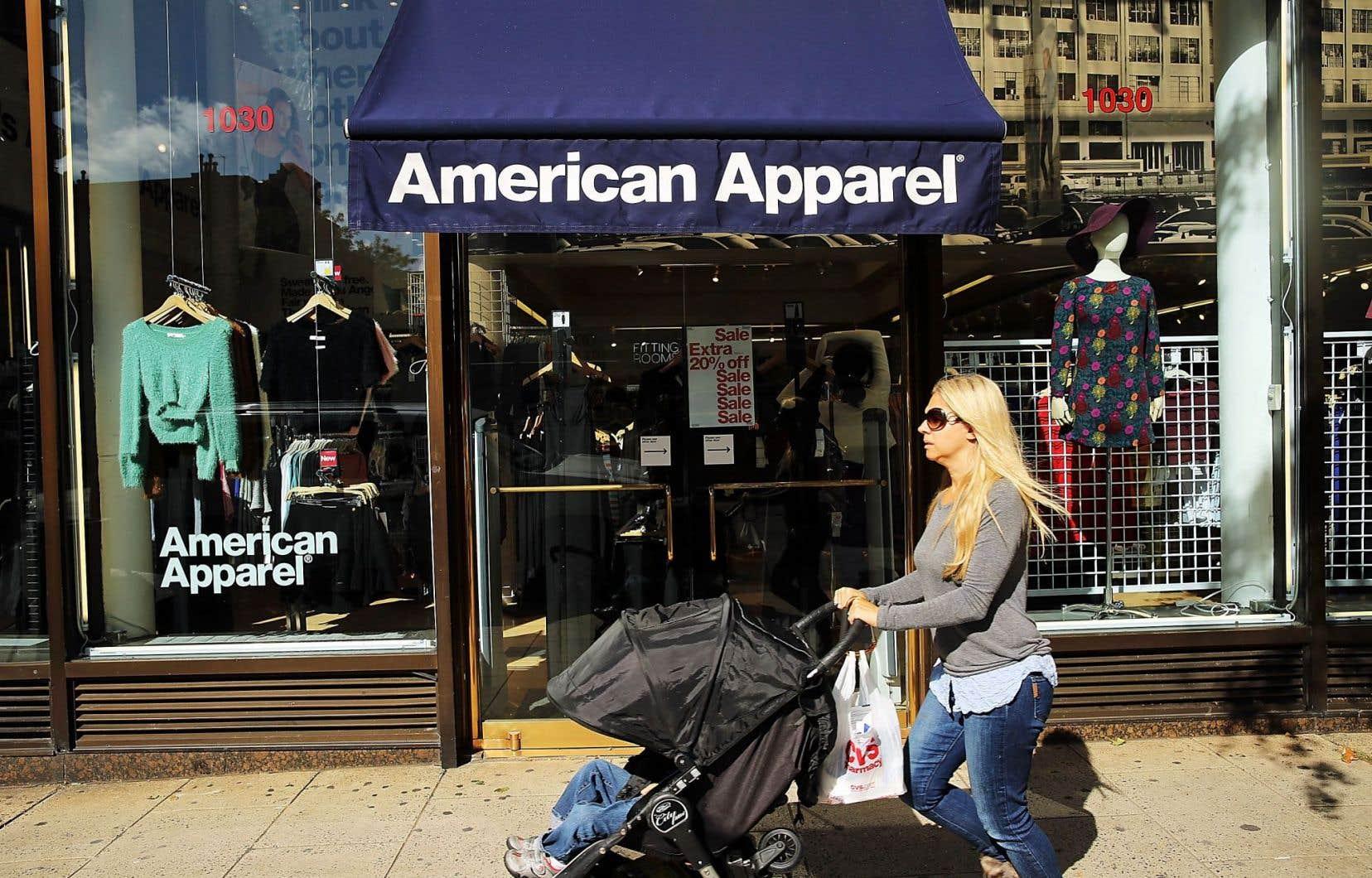 American Apparel perd de l'argent depuis 2010.