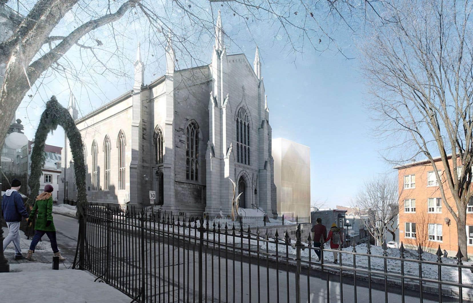La Maison de la littérature ouvre en effet ses portes dans l'édifice de style néogothique d'une ancienne église méthodiste du Vieux-Québec.