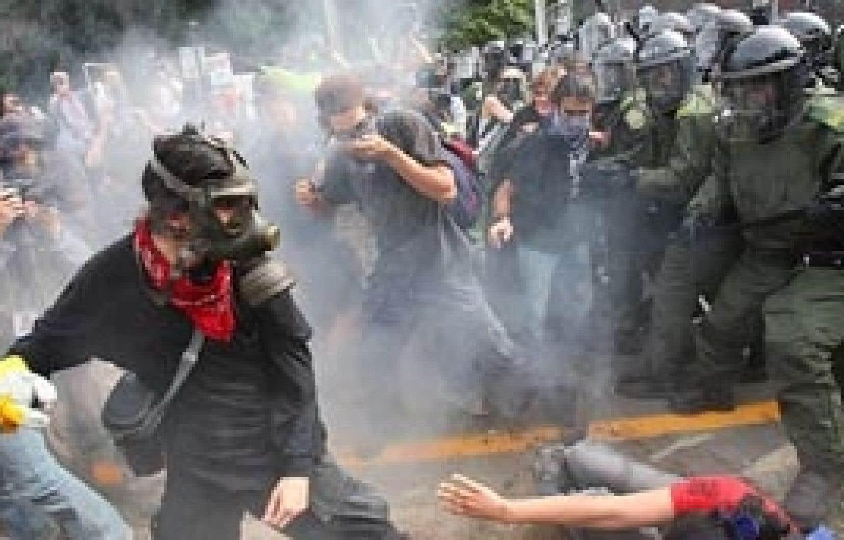 Trente-cinq policiers ont participé à l'opération «Flagrant délit» en août 2007 à Montebello.
