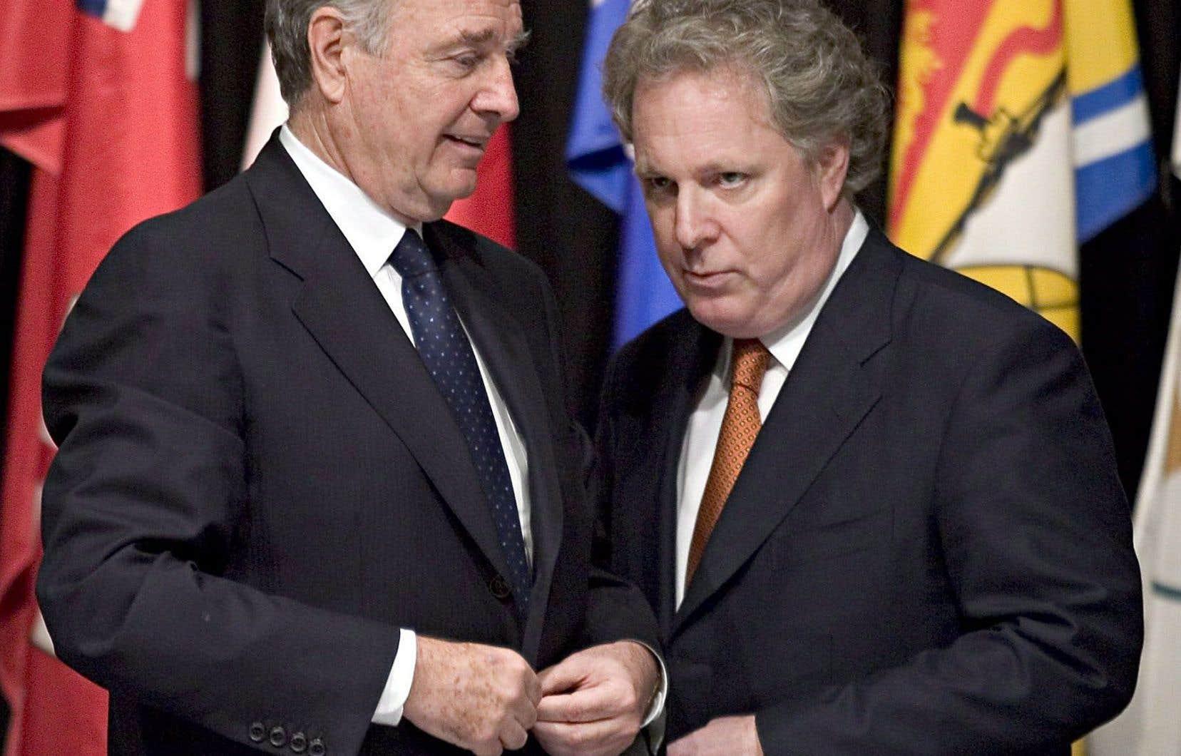 La dernière rencontre fédérale-provinciale date de 2004, avec Paul Martin comme premier ministre du Canada et Jean Charest au Québec.