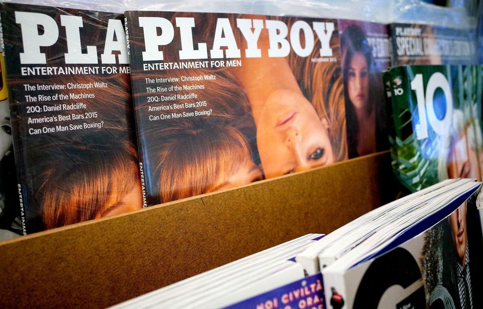 Le dernier numéro de «Playboy» actuellement en kiosque