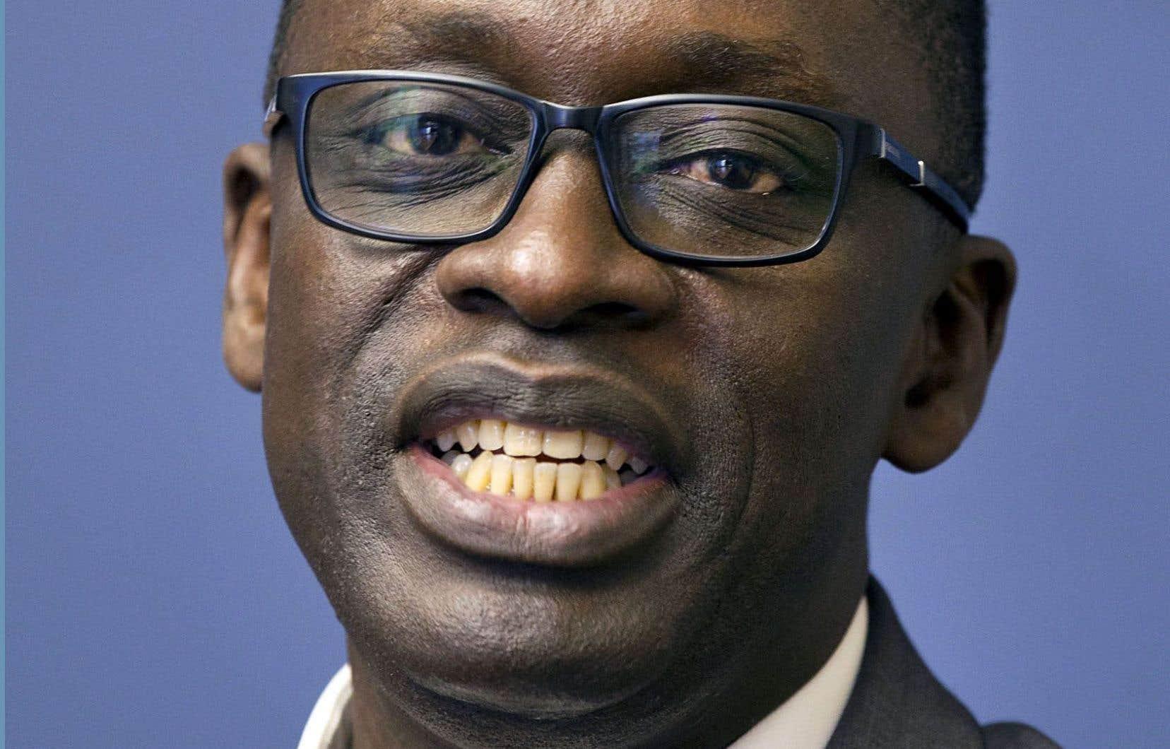 Mouhamed Fadel Niang, directeur de l'ISEP-Thiès et coordonnateur de la mise sur pied des 13 autres ISEP au Sénégal, lors de son passage au Québec.