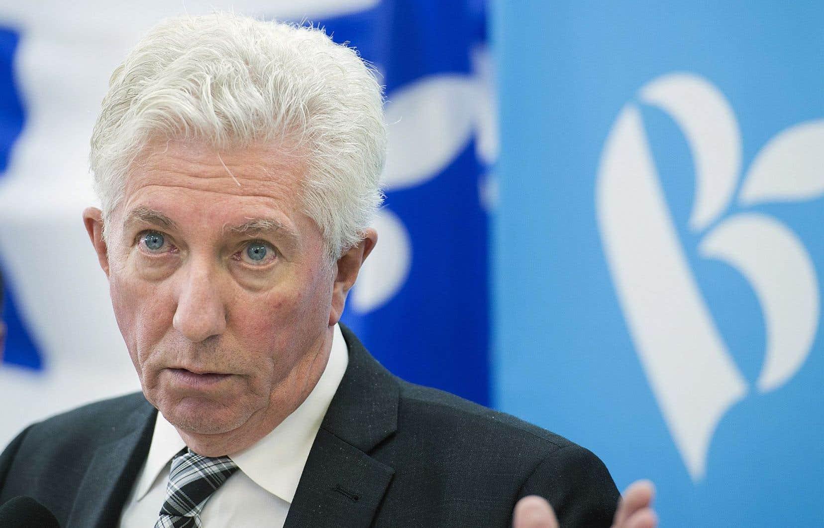 Gilles Duceppe a pris le relais de Mario Beaulieu à la tête du Bloc dans l'espoir de remettre le parti sur l'écran radar. Le dernier sondage Léger le place au même point qu'en 2011.
