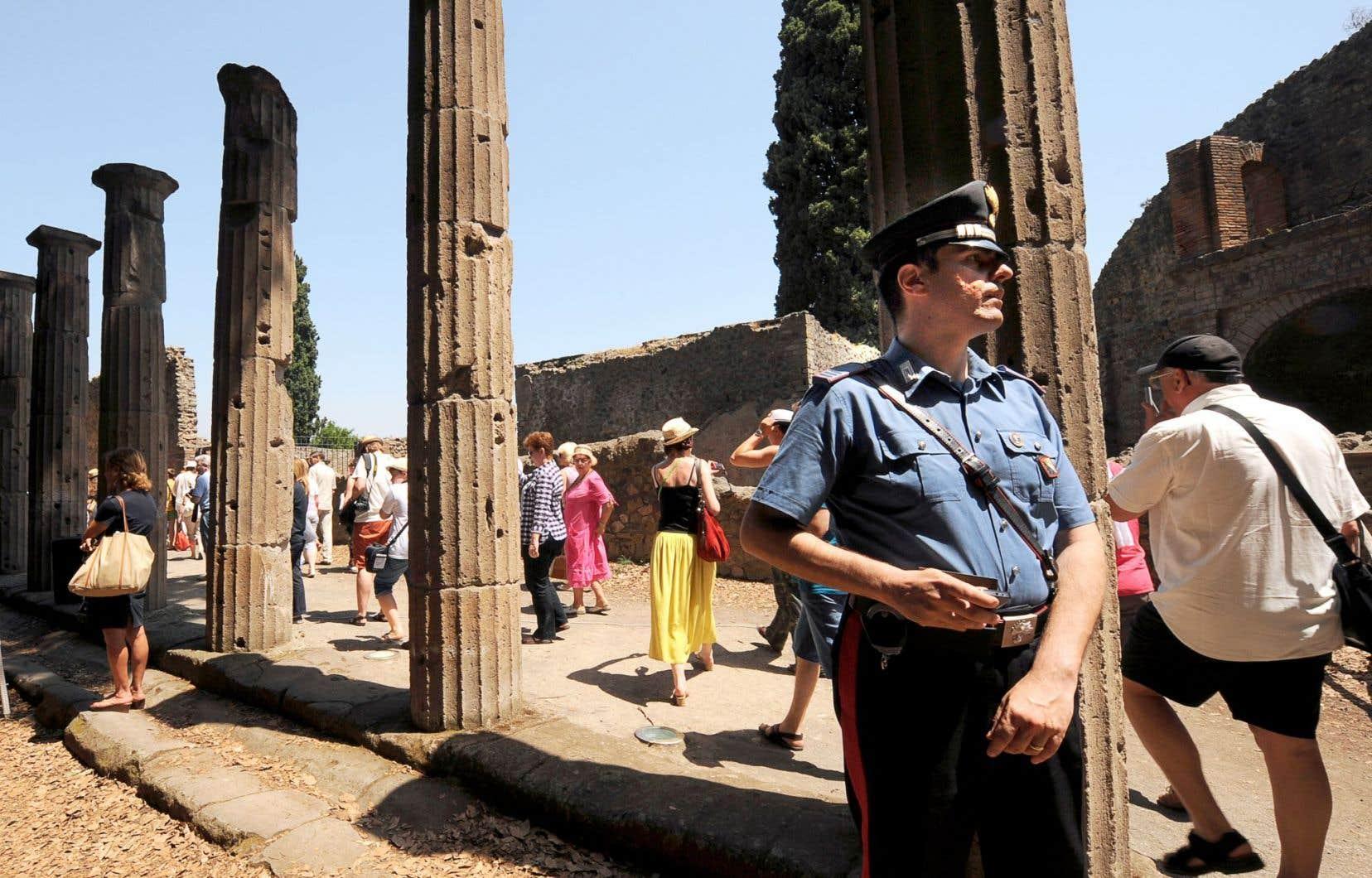 Le premier projet financé par les dons des internautes a été choisi parmi les nombreuses «urgences» recensées à Pompéi.