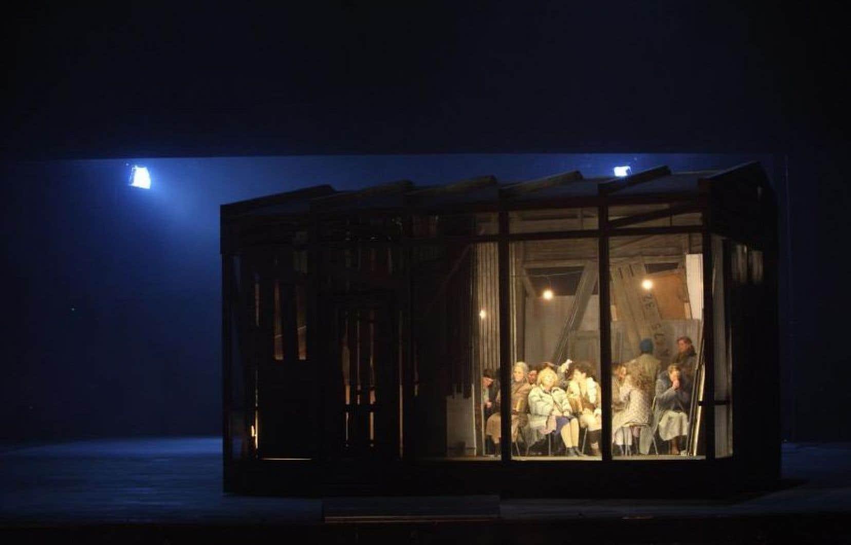 Une scène tirée de cette production des «Dialogues des carmélites» de Poulenc, dans une mise en scène de Dmitri Tcherniakov, en 2010.