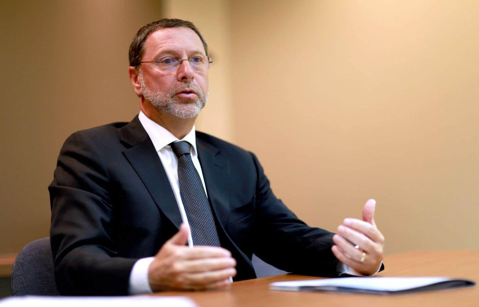 Yves-Thomas Dorval, le président du Conseil du patronat du Québec