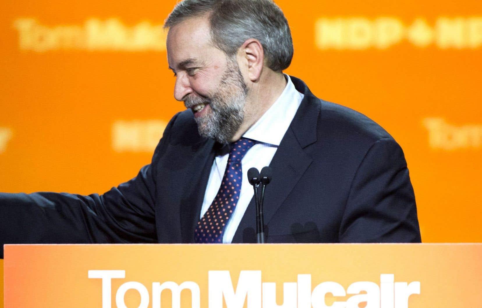 La vague qui a emporté plus de la moitié de la députation néodémocrate était incontrôlable, jugent des militants, qui ont toujours confiance en Thomas Mulcair. Son leadership n'est pour l'instant pas remis en question.