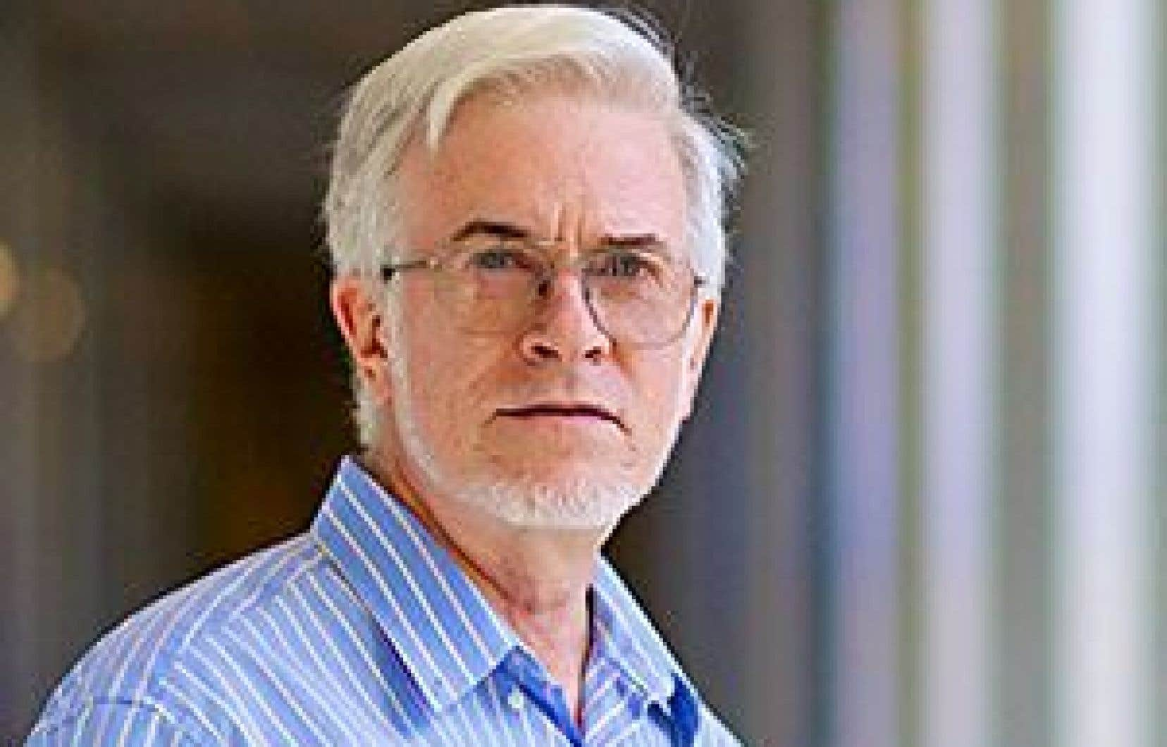 Le chercheur Pierre Legendre, lauréat du prix Adrien-Pouliot pour la coopération scientifique avec la France