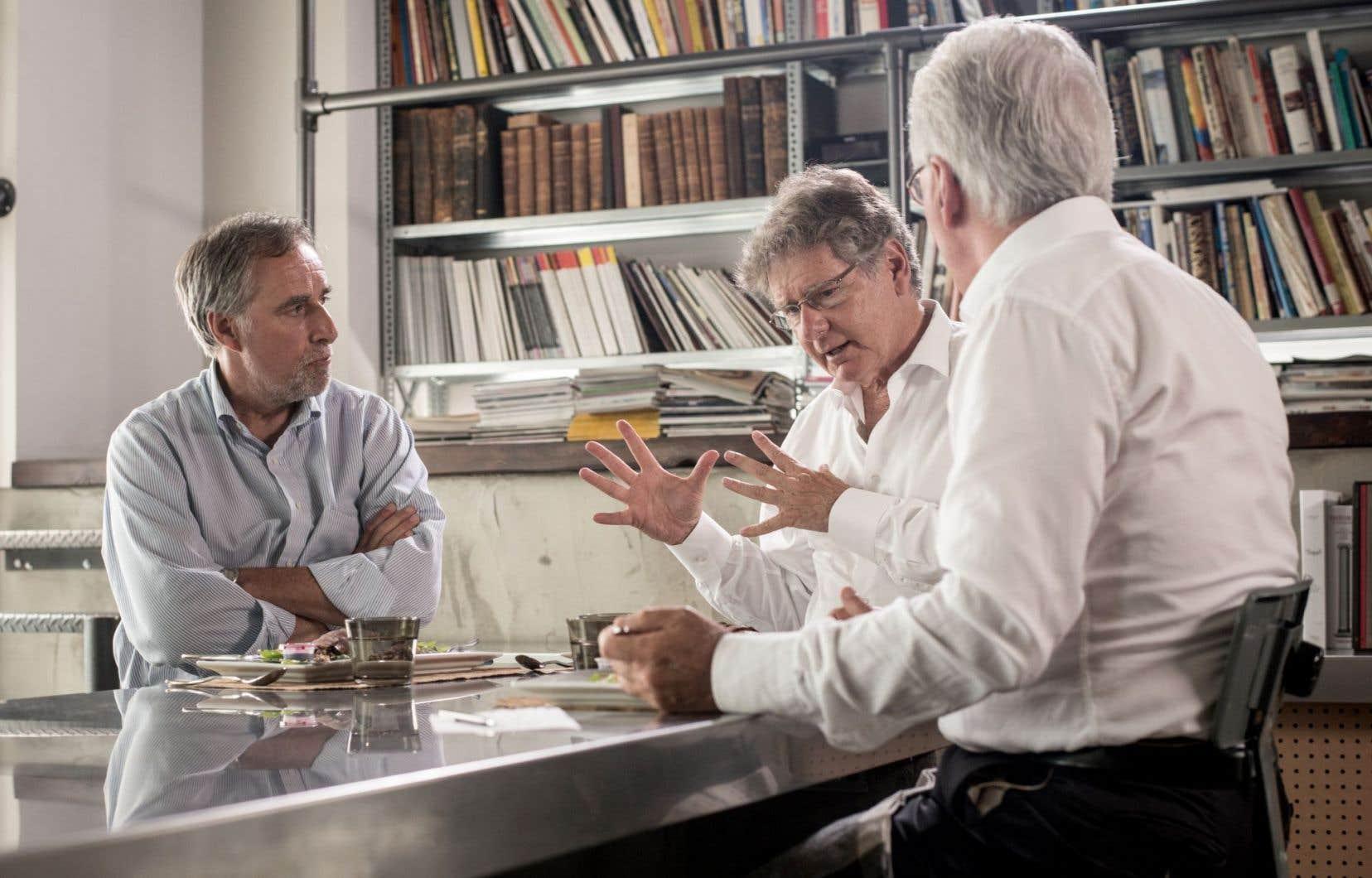 Diffusé à Historia, le documentaire «Dans les coulisses du référendum» donne particulièrement la parole à deux stratèges de l'ombre : Jean Royer et John Parisella.