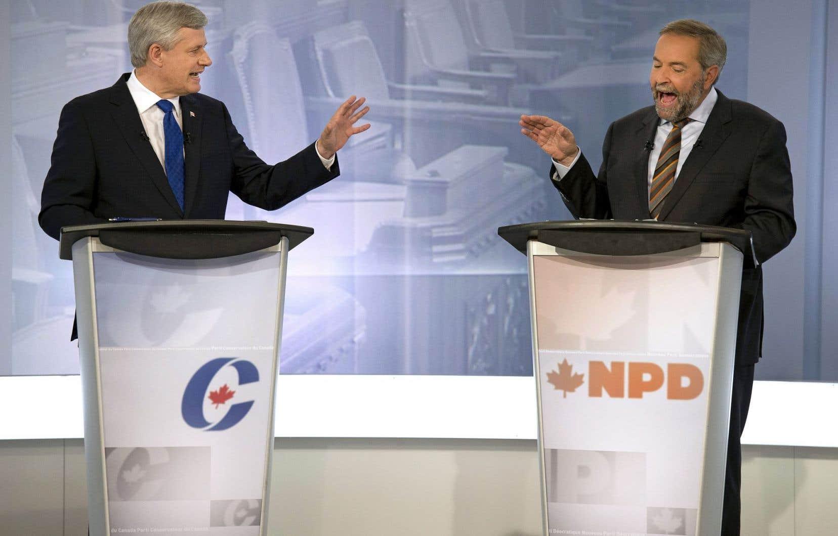 Les partis de Stephen Harper et de Thomas Mulcair devront procéder à un examen approfondi des résultats de l'élection.