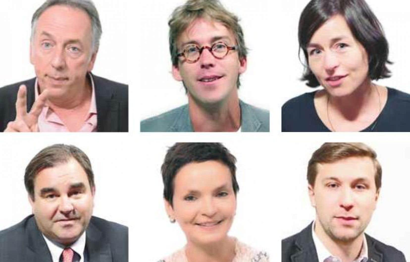 Benoît Dutrizac, Fred Pellerin, Laure Waridel, Andrew Molson, Anaïs Barbeau-Lavalette et Gabriel Nadeau-Dubois, entre autres, participent à la campagne.