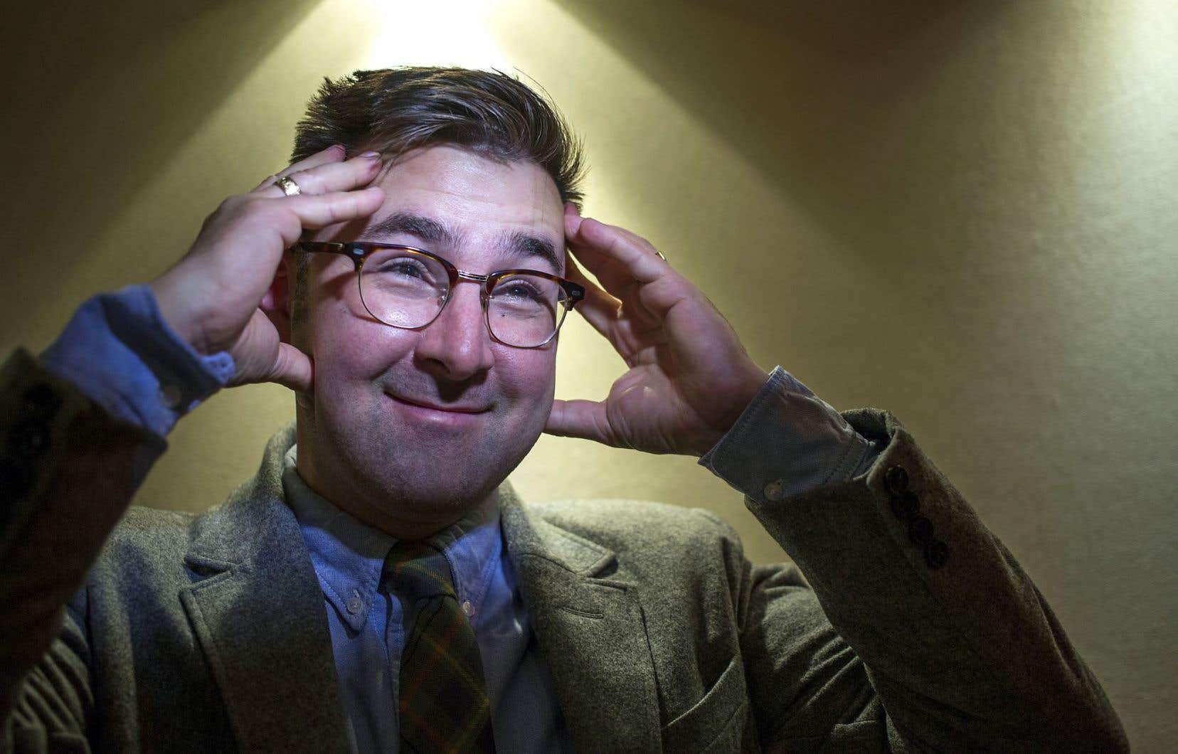 Fenwick McKelvey, professeur au Département de communication de l'Université Concordia