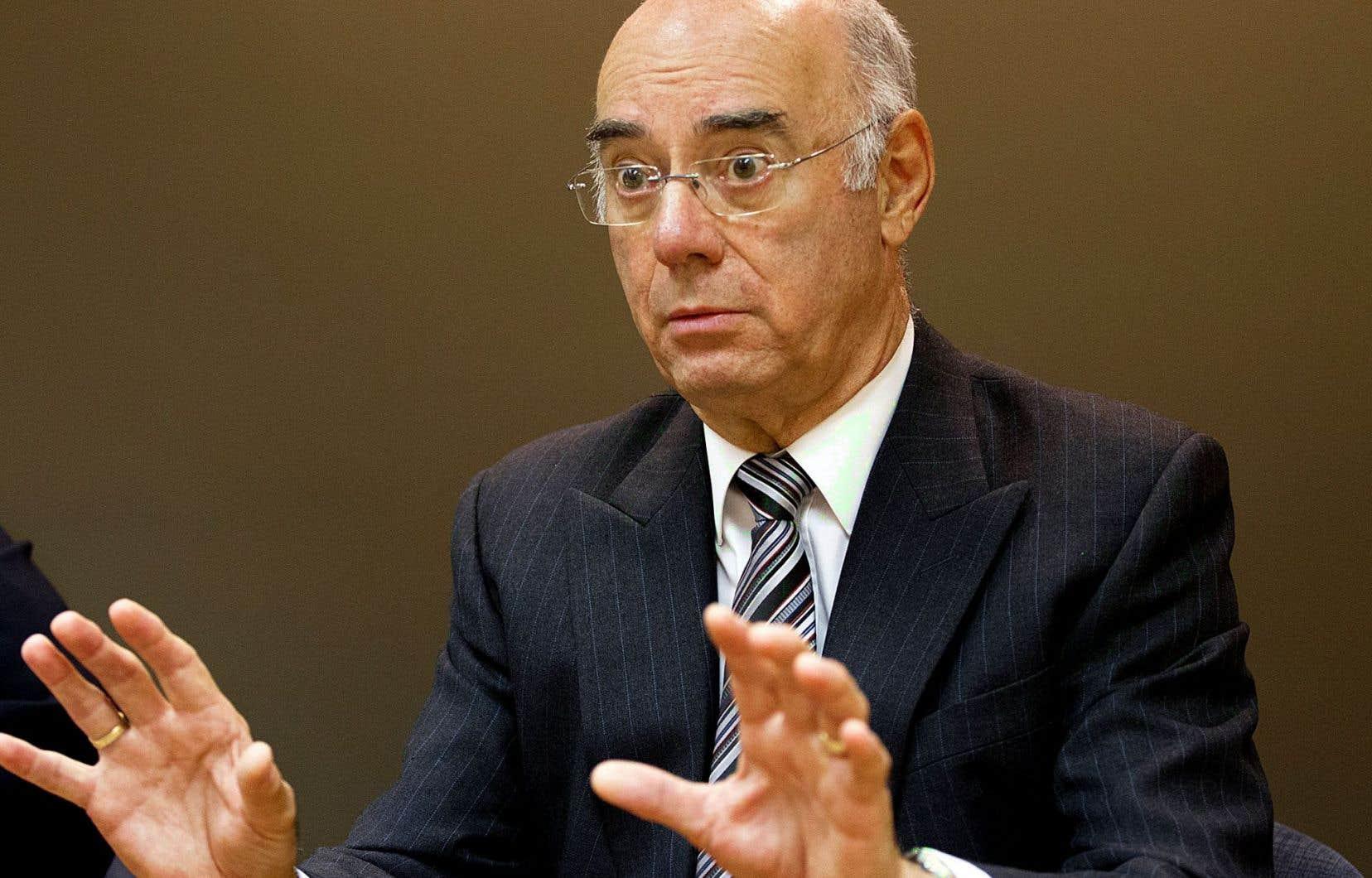 Le ministre québécois de l'Économie, Jacques Daoust